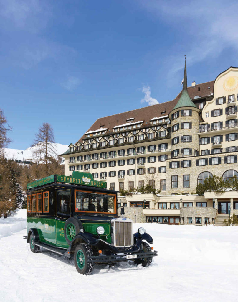 The hotel chaffeur is at your beck and call, always in a stylish ride